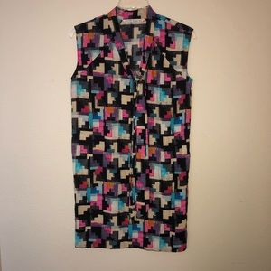 Rachel Rachel Roy Geometric dress Tie